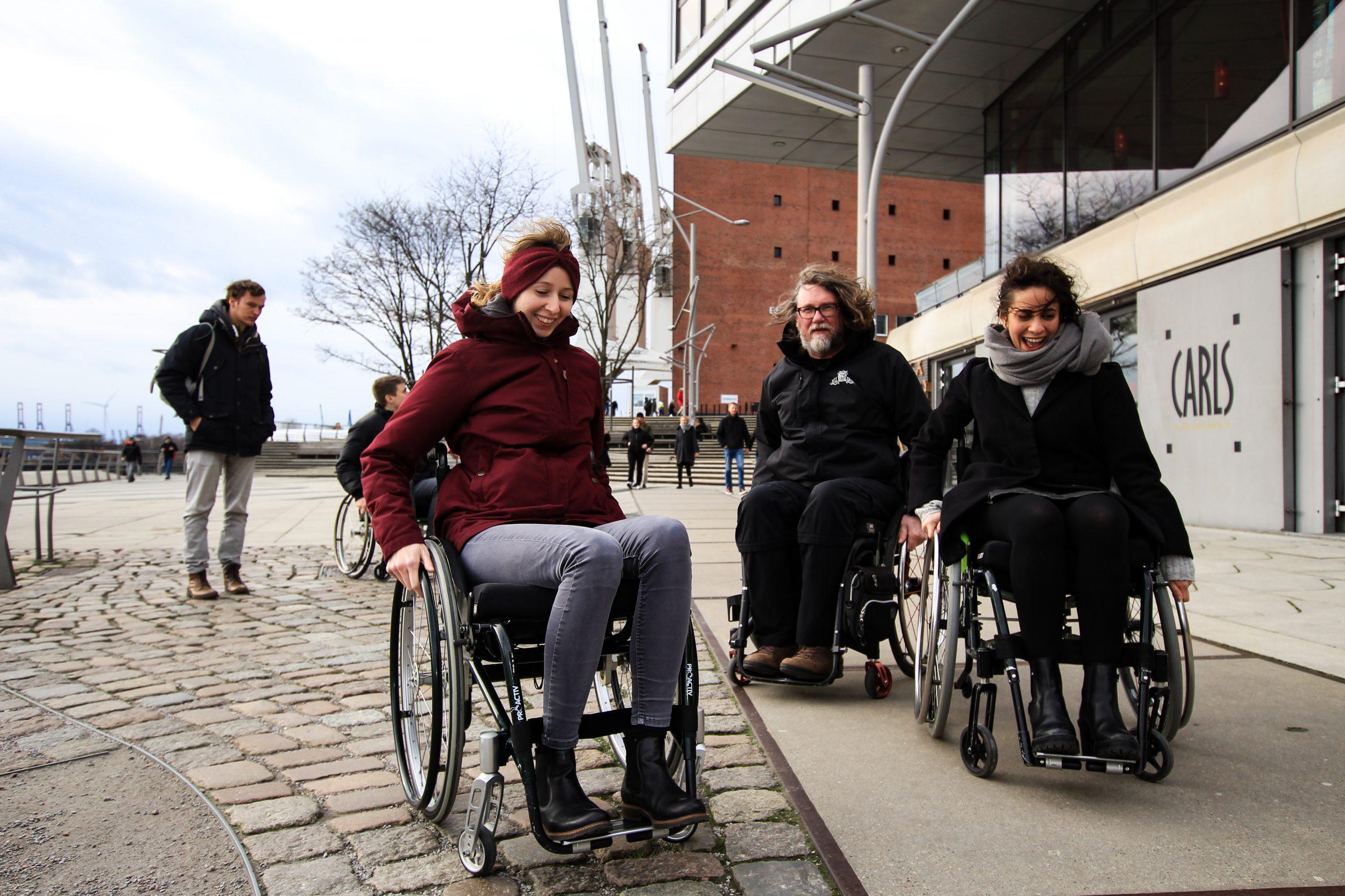 Stadtführung Rollstuhl